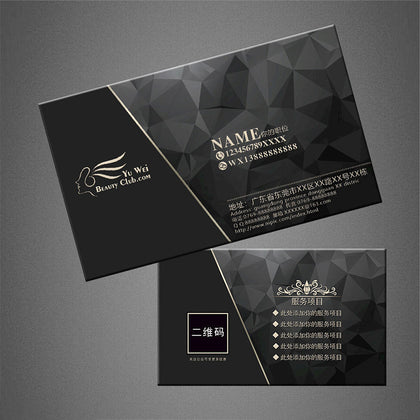 Specializing in the production of double-sided printing coated paper business cards, laminating card production, color design printing business cards