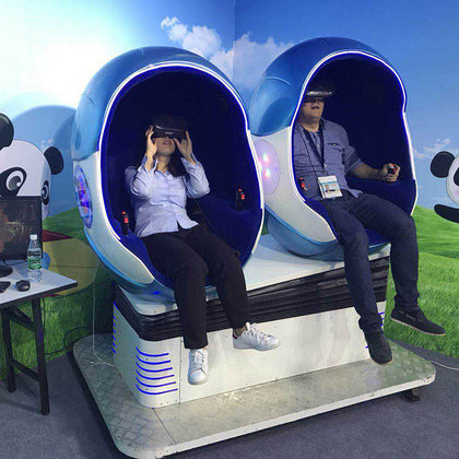 VR security experience hall VR egg chair experience equipment VR single egg chair double egg chair vibration somatosensory experience
