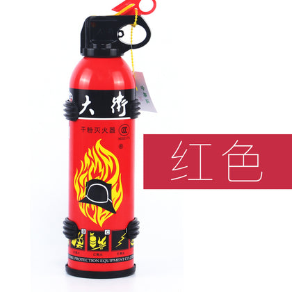 Spot direct car fire extinguisher 3C certification car dry powder fire extinguisher fire 500g car fire extinguisher