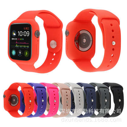Applicable Apple Watch Silicone Strap Apple Watch Silicone Strap iwatch Silicone Strap