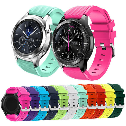 Suitable for Samsung Samsung Gear S3 Frontier official same silicone strap sports watch strap