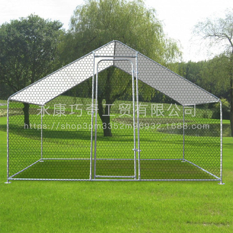 Outdoor chicken shed large chicken house chicken house rabbit cat mini pig cage pet cage 2.2m & times; 1.4m & times; 2m modified