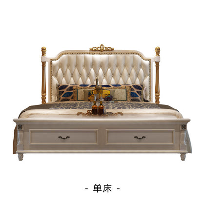 Benoy song New American bed simple European bed light luxury postmodern double 1.8 m master bedroom furniture