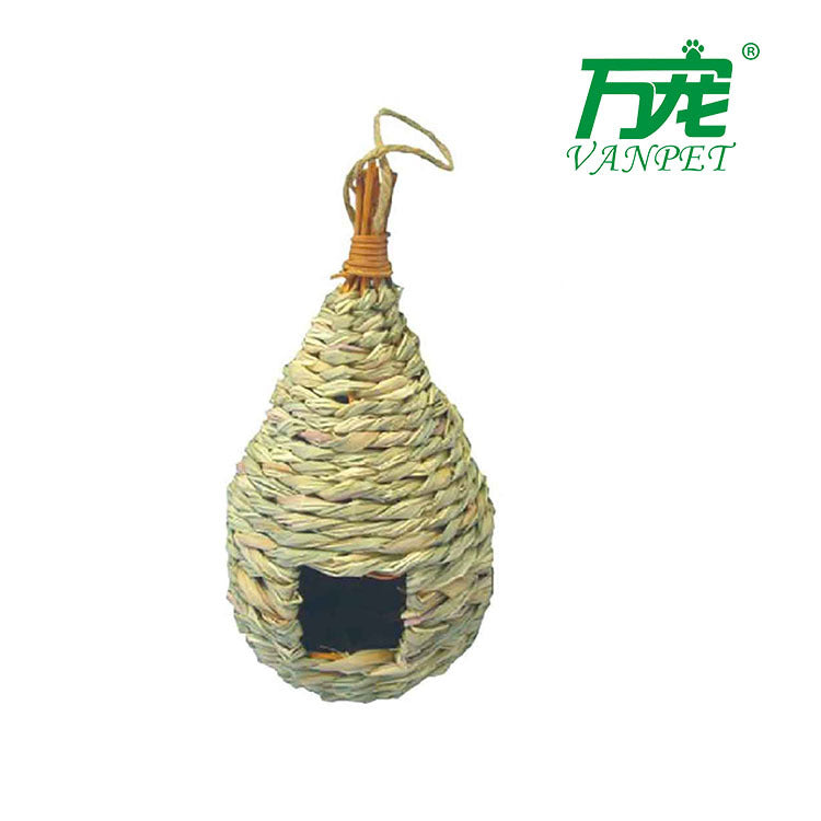 Straw Crafts Bird House Pet Supplies Pet House Bird House Bird Bird Grass Nest Pigeon Nest
