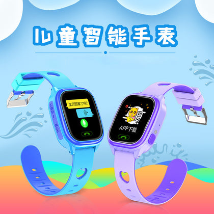 Touch remote camera student child wear smart phone watch LED flashlight lighting watch generation