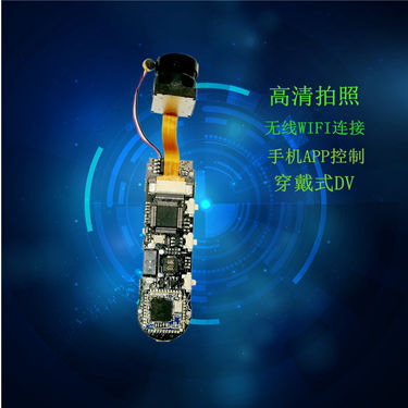 Surveillance camera wireless wifi camera module with wheat