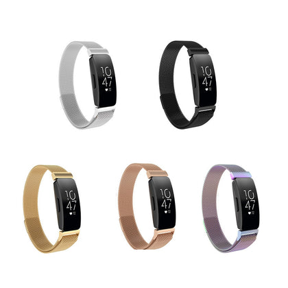Suitable for Fitbit Inspire Milan strap inspire hr Milanese stainless steel magnetic belt