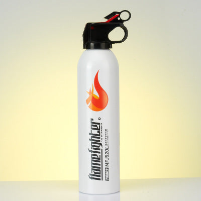 3C certification flame war big flame 520 car annual review hand-held dry powder car portable fire extinguisher