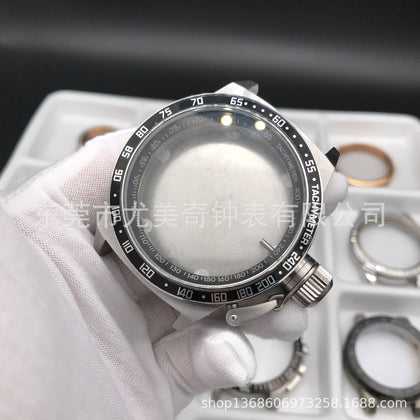 Watch accessories case steel case case processing custom watch OEM custom watch case