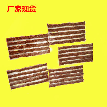 Car tire tire special rubber strip Motorcycle car tire rubber strip Self-help self-repair tire special rubber strip