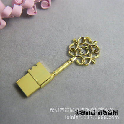 u disk wholesale lettering custom usb2.0 creative metal usb gift gift u disk high speed 8g16g u disk 32g64g