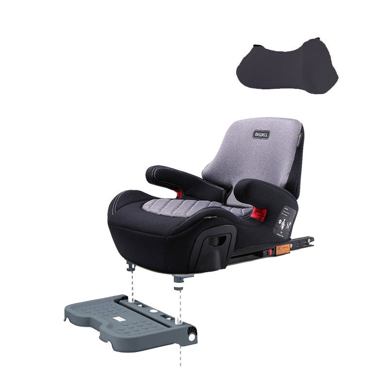 German children's age increase pad 3-12 seat car with simple portable seat ISOFIX interface