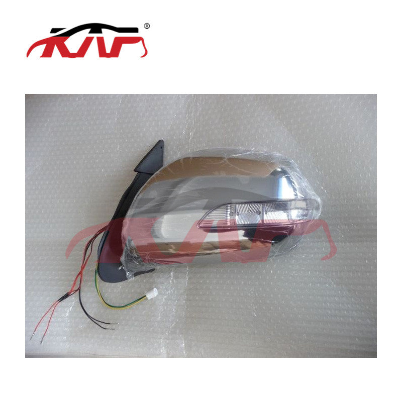 Applicable to Toyota 2005 sea lion reversing mirror, 05-15 years, electroplated electric belt with LED Toyota mirror