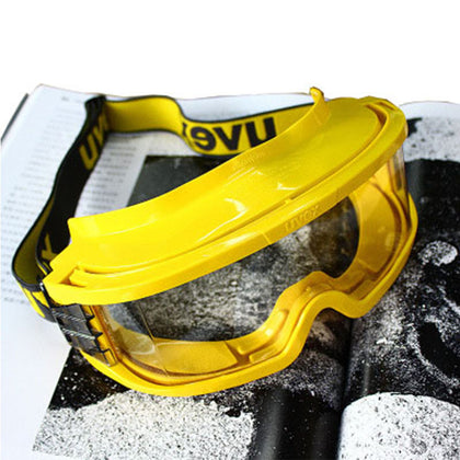 Germany Euphorius 9301613 yellow high temperature impact fire safety eye mask