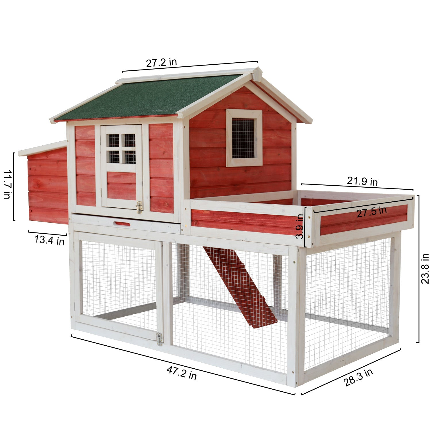 Qi Ji chicken cage pet outdoor large home chicken cage chicken house pigeon cage rabbit cage