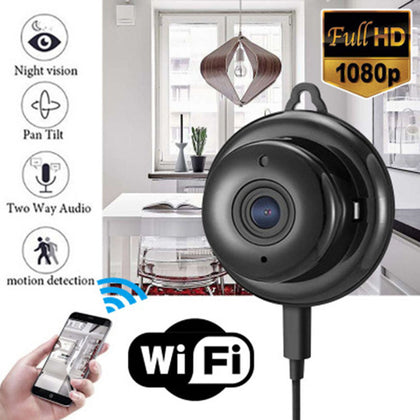 Infrared night vision surveillance camera Intelligent HD wireless compact camera WIFI network mobile phone remote
