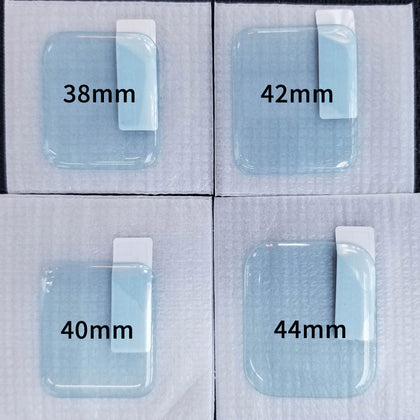Suitable for Apple Watch tempered film iWatch film UV full screen full glue 424044 watch film glass 4 generation UV glue