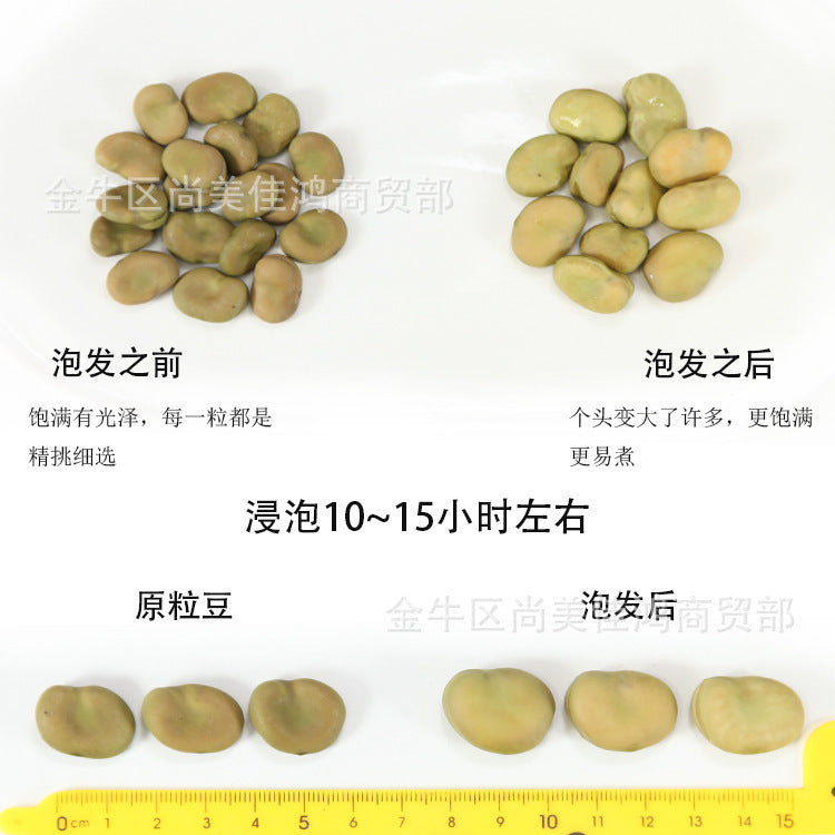 【Yunnan specialty】Wholesale broad beans Yunnan dried broad beans 2019 new goods raw broad beans bulk broad beans