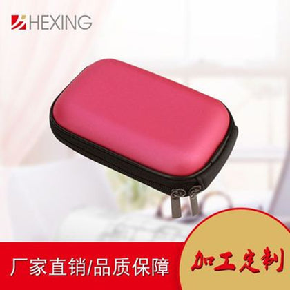 Manufacturers production headset storage box eva storage package data line headset packaging digital camera storage bag