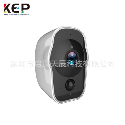 Factory direct wireless WiFi battery surveillance camera 1080P built-in battery Night vision waterproof camera