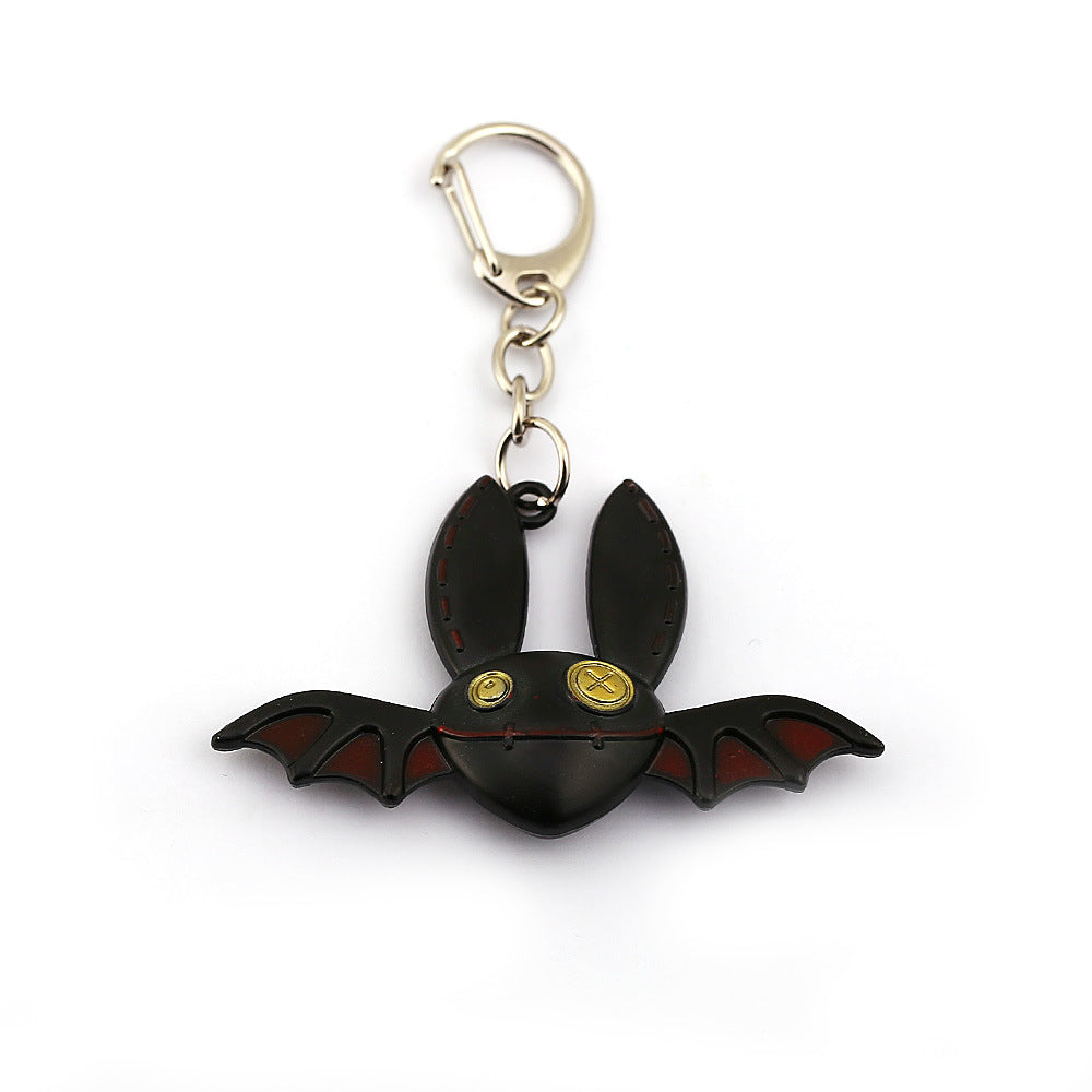 The fifth personality keychain, the beard cat, the followers, the pet, the night bat, the anime, the second element, 17