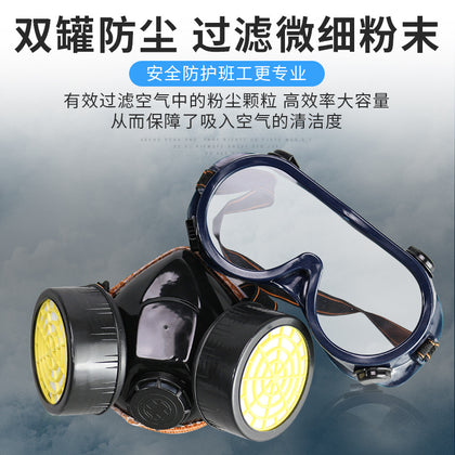 Gas mask, gas mask, odor, dust, chemical protection, industrial dust, detoxification, formaldehyde, pesticide