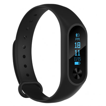 New M2S smart bracelet 0.86 inch OLED screen smart watch heart rate monitoring call reminder information push
