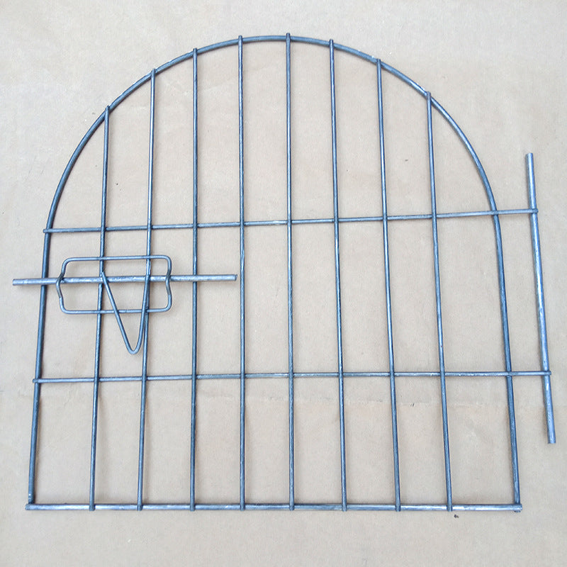 Pet cage door stainless steel pet fence dog fence pet supplies to protect pets comfortable life