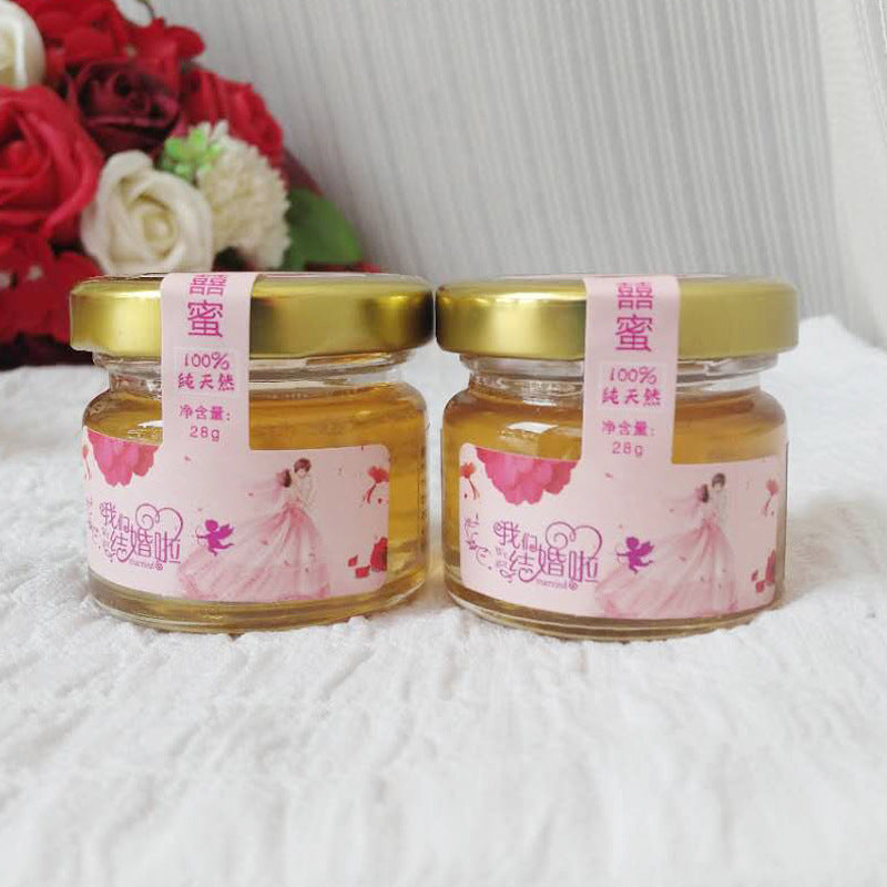 Yilin Bee Industry Honey 28g Baihua Honey Creative Gifts Upscale Wedding Vial Honey Honey Honey OEM