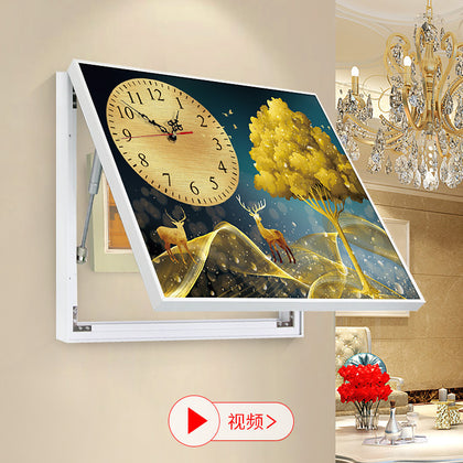 Electric meter box decorative painting embossed stereo uv printer Digital painting equipment plastic electric box painting 3d inkjet printer