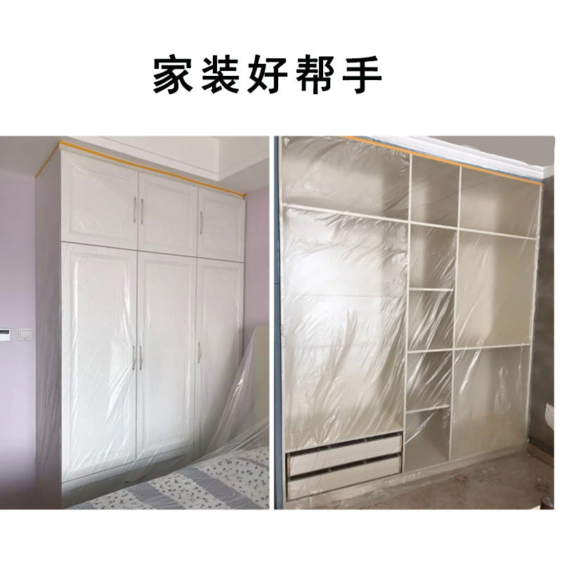 Automobile sheet metal painting home decoration construction protective film decoration furniture paint protective film masking paper masking film