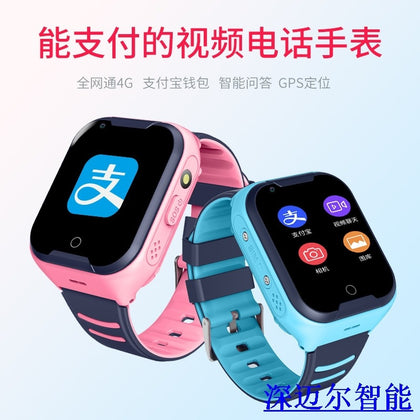 A36E full Netcom video call genius phone waterproof 4G children smart watch GPS positioning factory direct sales