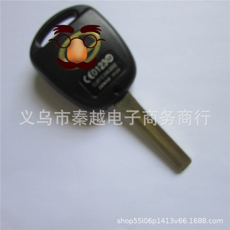 """0690"" applies to Lexus two-button car straight hole remote hole shell two holes short Lexus"