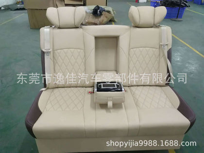 Specializing in the production of car seats Business aviation seats Car rear three-person touch screen switch
