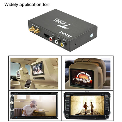 Factory direct ISDB-T car HD digital TV box Philippine car ISDB-T South American set-top box