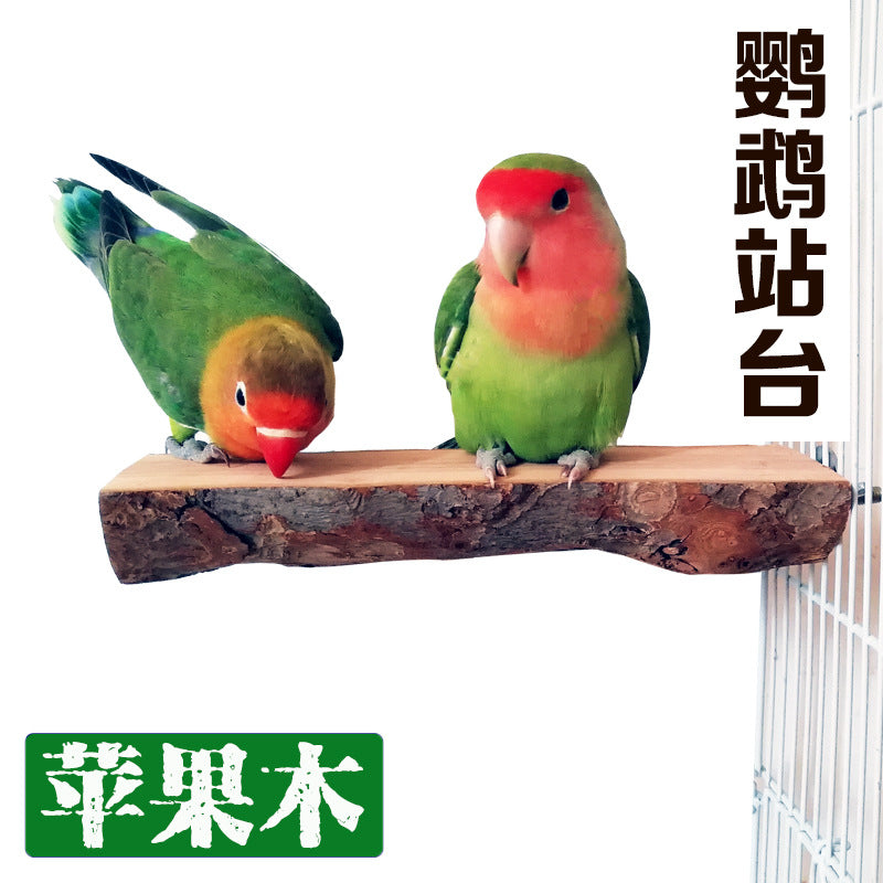 Source of Origin Amazon Explosives Parrot Stand Wooden Parrot Toy Parrot Swing Birds