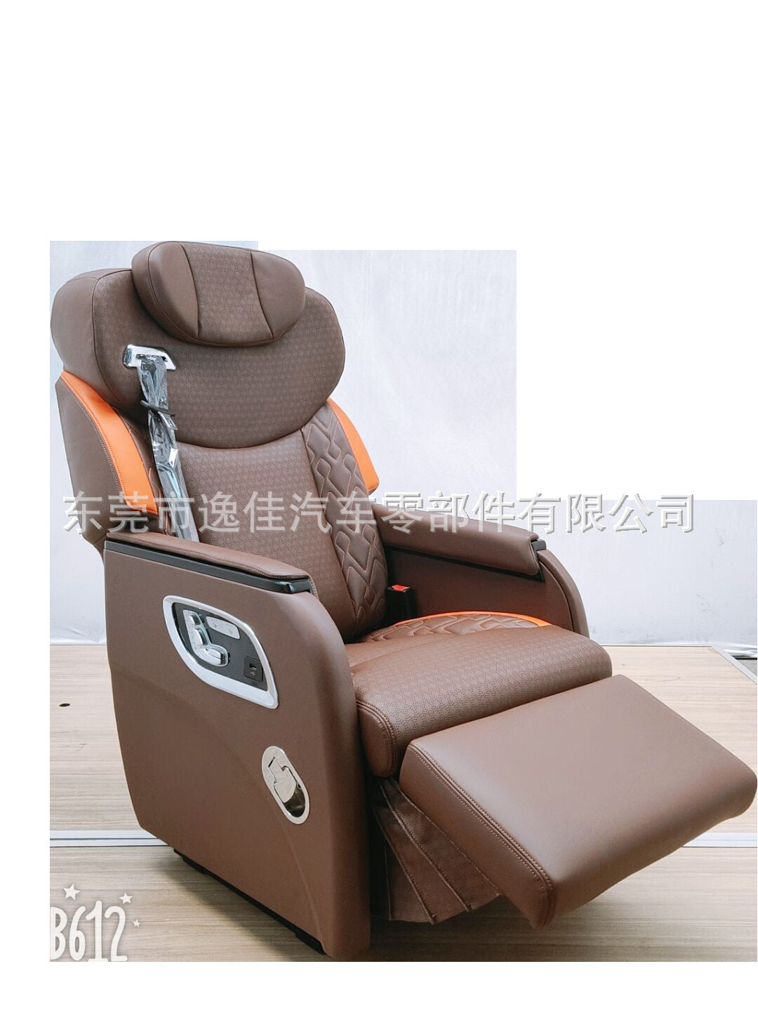 High-end commercial vehicle seat design custom car seat smart seat VIP restaurant seat wheel chair
