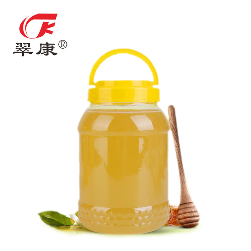 Jilin Cui Kang bee industry direct supply Changbai Mountain eucalyptus honey simple packaging 2500g natural honey low price wholesale