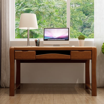 Factory direct sales solid wood desk chair home office computer desk student study table bedroom table simple writing desk