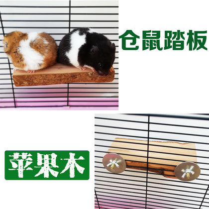 Factory direct Amazon explosion models Hamster toy supplies Wooden small pet toys Apple wood molars