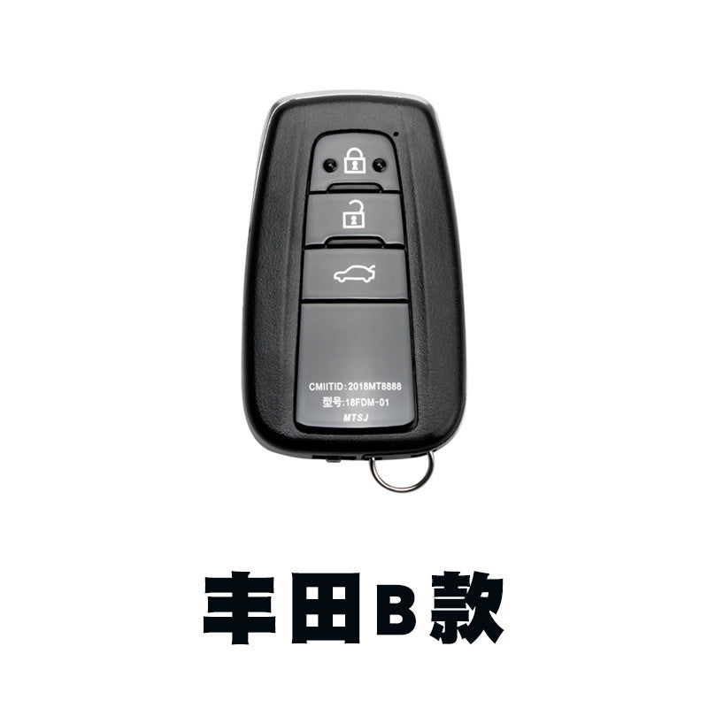 After installing a key to start the key smart card remote control key for Toyota Honda Highlander Camry