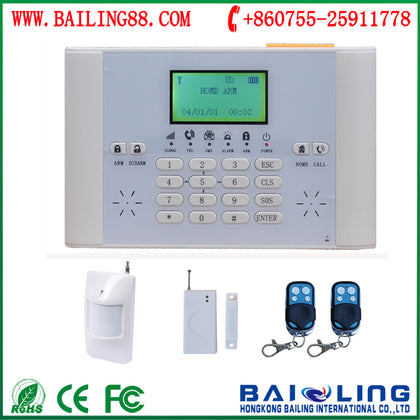 GSM home and commercial burglar alarm infrared burglar alarm host GSM home security host