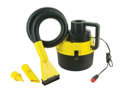 Auto supplies drum mini portable high power wet and dry car vacuum cleaner car vacuum cleaner 60W