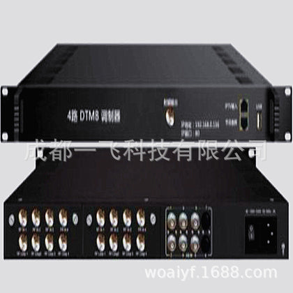 Chengdu four-way cable TV modulator TV front-end equipment for hotel hospitals, etc.