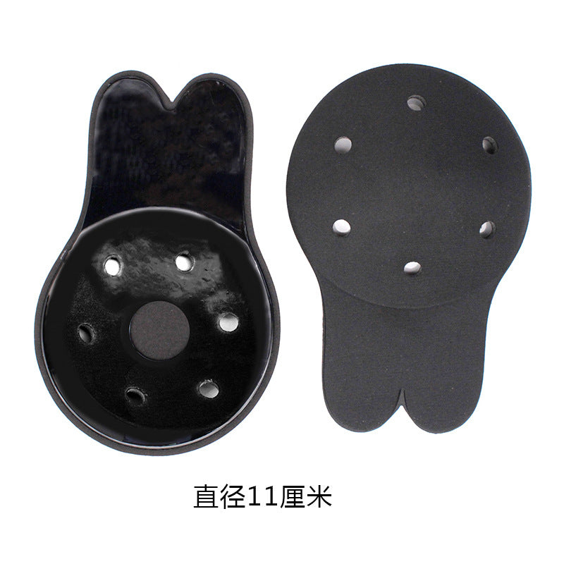 Rabbit ears lifting nipples breathable chest stickers anti-lighting anti-sagging on the ultra-thin silicone invisible chest stickers