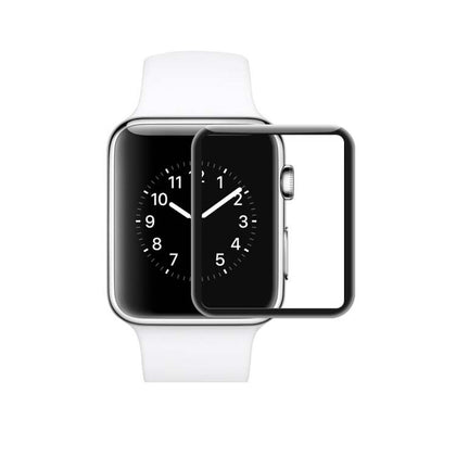 Suitable for Apple iwatch 4 watch film 3D curved heat-bent tempered film Apple Watch 4 protective film 44