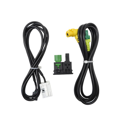Big ~ public RCD510/310+/300+ magotan Touran new POLO Touran change AUX USB switch seat + wiring harness