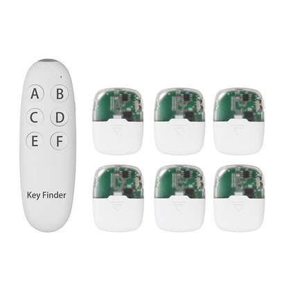 The new smart key anti-lost device one for six key finder wireless finder key locator manufacturers
