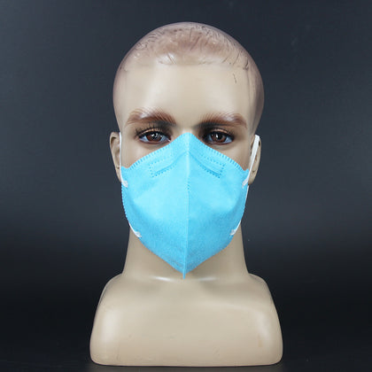 Non-woven disposable protective mask N95 anti-fog haze dust-proof pollen PM2.5 anti-particle flu mask