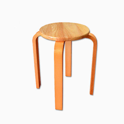 Bent wood stool(45cm high)